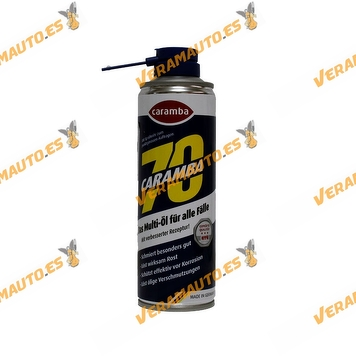 Aceite Multifunción CARAMBA 70 250ml | Eliminador de Oxidos | Todo en uno