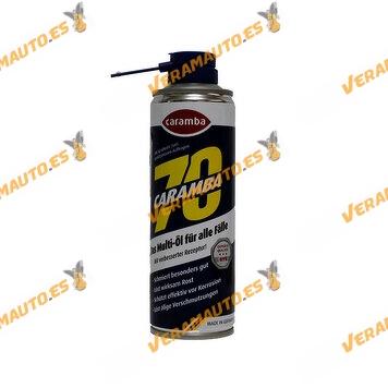 Lata de Aceite Multifuncion CARAMBA 70 250ml Eliminador de Oxidos