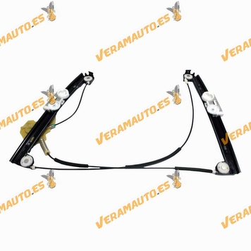 Electric Window Operator Mini One Cooper from 2001 to 2007 Front Right without Engine OEM Similar 51337039452