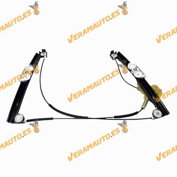 Electric Window Operator Mini One Cooper from 2001 to 2007 Front Left without Engine OEM Similar to 51337039451