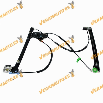 Electric Window Operator Volkswagen Polo 1994 to 2001 Front Right without Engine 3 Doors 2 Pin OEM Similar to 6N3837462