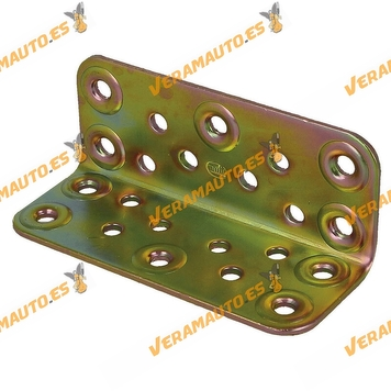 Ángulo De Refuerzo | Modelo 304 | 103x100 mm | Acero Bicromatado | Amig