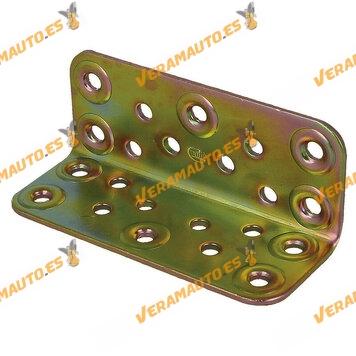 Ángulo De Refuerzo | Modelo 304 |40-100 X 100 |  Acero Bicromatado | Amig