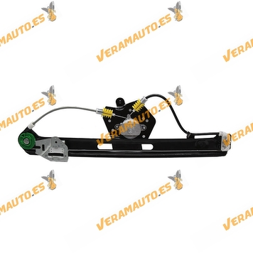 Electric Window Operator BMW E46 Serie 3 from 1998 to 2005 Rear Right without Engine Mechanism OEM Similar to 51358212100