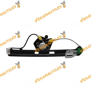 Electric Window Operator Bmw E46 Serie 3 from 1998 to 2005 Rear Left without Engine Mechanism OEM Similar to 51358212099