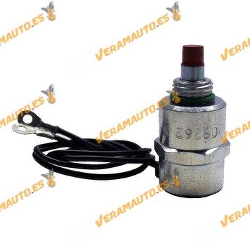 Electrovalvula | Corte Inyeccion Combustible Bomba Inyectora Delphi y Lucas | PSA | Fiat | Ford | Renault | VAG | OEM 9109262i