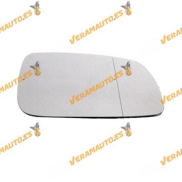 Rear view Mirror Glass Seat Cordoba Ibiza Leon Toledo Volkswagen Bora Golf Iv Lupo Passat Polo Right Similar to 1J1857522B
