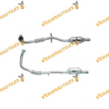 Catalizador Especifico Opel Corsa B, Combo de 1993 a 1996 motores 1.5D 1.7D C1.7D X1.7D C1.5 X1.5D similar a 5854205 5854273