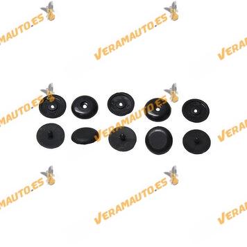 Set de 5 Grapas para Cinturón de Seguridad | Múltiples Vehículos