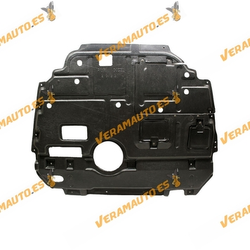 Under Cover Engine Toyota Auris from 2007 to 2012   ABS plastic   Diesel Engines   OEM 51410-02120