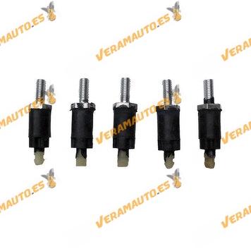 Set de 5 Topes de Goma para Cubierta Superior de Motor Grupo PSA Motores Diésel | OEM Similar a 013723