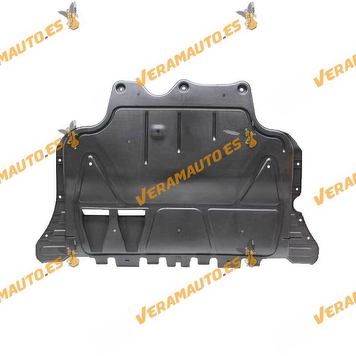 Sump guard for Audi A3 | SEAT Leon | Volkswagen Golf VII Passat B8 | Polyethylene Plastic | OEM Similar to 5Q0825236Q