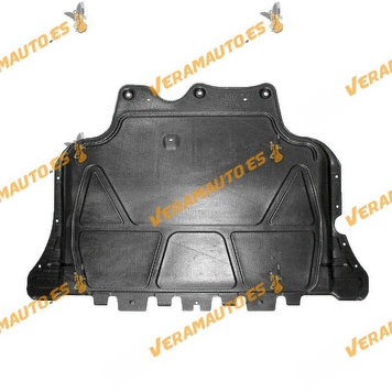 Sump guard for Audi A3 | SEAT Leon | Volkswagen Golf VII Passat B8 | ABS plastic | OEM Similar to 5Q0825236Q