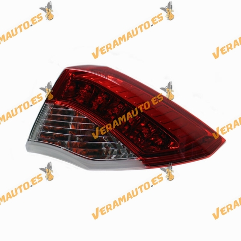 Tail Light Renault Laguna III from 2007 to 2011 Rear Right Exterior LED | OEM similar 265500001R 89079417