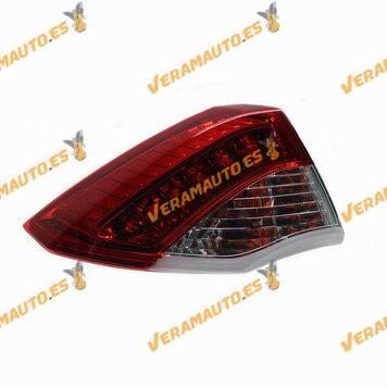 Piloto VALEO Renault Laguna III de 2007 a 2011 Trasero Izquierdo Exterior LED | OEM Similar 265550001R
