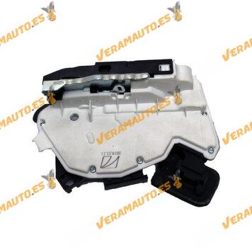 Lock Volkswagen Golf VI Polo   Skoda Yeti Rapid   Rear Right 7 Pins   OEM Similar to 6RD839016A