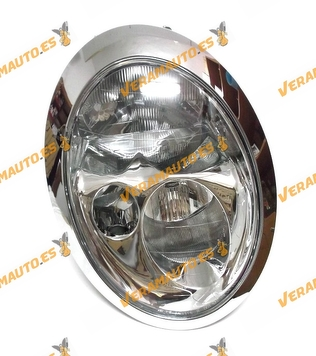 FARO OPTICA MINI ONE COOPER WORKS R50 R53 DEL 2001 AL 2004 LAMPARAS H7 Y H7 DELANTERO IZQUIERDO SIMILAR 63126911703