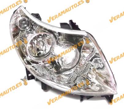 FARO FIAT DUCATO 2006 EN ADELANTE OPTICAS H7 - H1 ELECTRICO CON MOTOR DELANTERO DERECHO