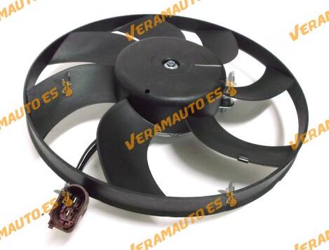 Electro ventilador Audi A1 y A3, Seat Altea/XL, Ibiza, Leon, Toledo, Skoda Octavia, SuperB, Yeti, Volkswagen Beetle, Caddy, EOS,