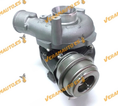 Turbocompresor BMW 530D (E39) / 730D (E38), SIMILAR A: 22489069 / 454191 / 2247691F / 11652247691 / 11652248906 / 11652248907 /