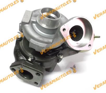 Turbocompresor Bmw Serie 3 E46 320d 150cv años 1998 a 2005 tipo motor M47TU equivalente a 717478-0001, 717478-0002, 717478-0003,