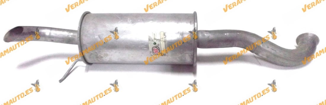 SILENCIOSO TRASERO CITROEN SUPER BX 1.6 1.9 AS15669, SIMILAR A: 96048418 / 95610188 / 95632630