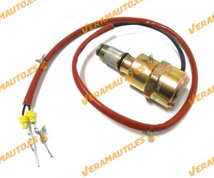 ELECTROVALVULA/SOLENOIDE BOMBA INYECTORA DELPHI/LUCAS RENAULT CLIO II - KANGOO - TRAFIC 1.9D SIMILAR 9108147CI, 9108-147C / I