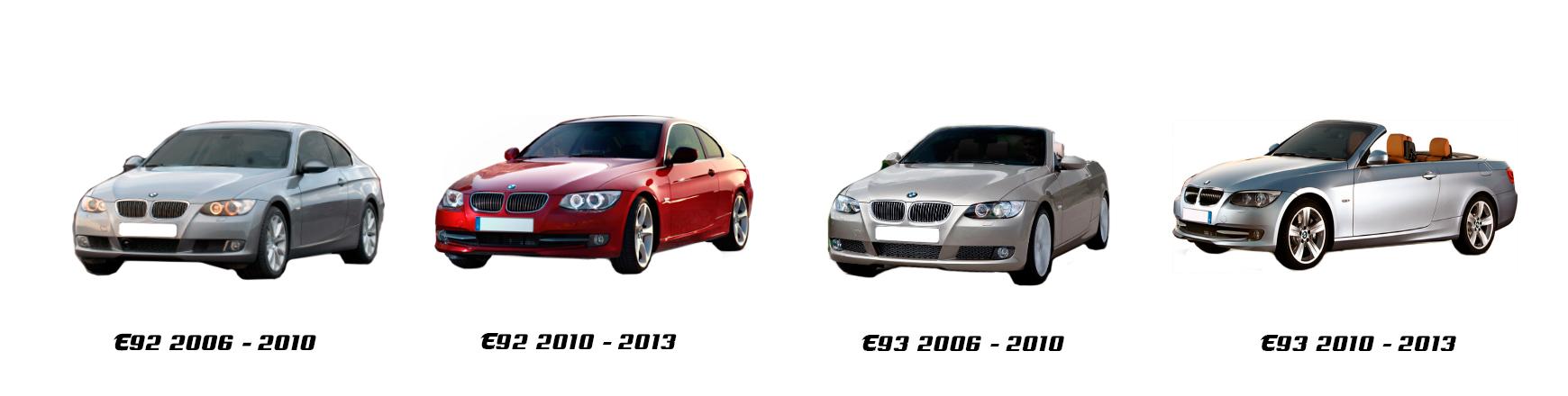 bmw serie 3 e92 coupe 2005 2006 2007 2008 2009 2010 2011 2012 2013
