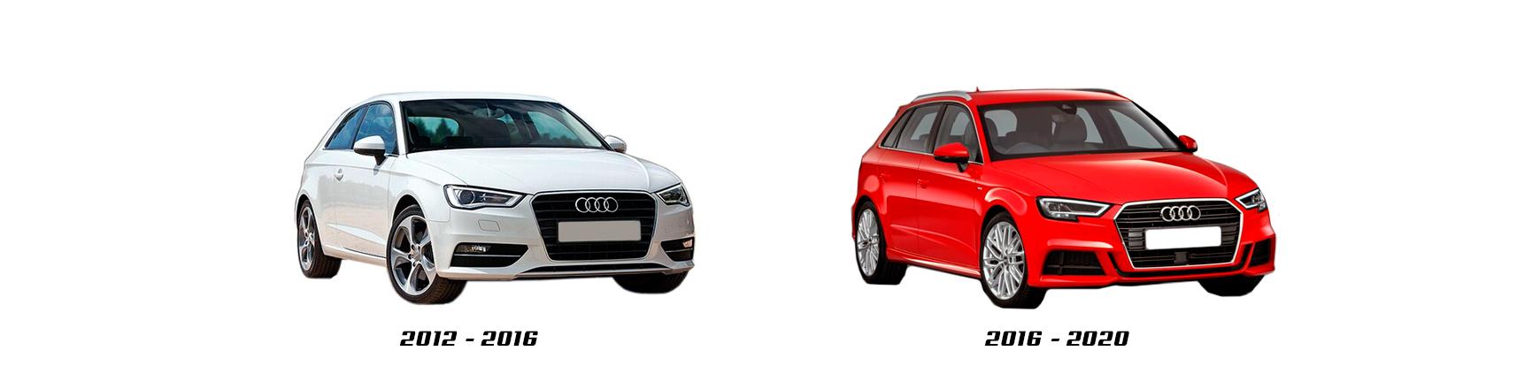 Audi A3 (8V) de 2012, 2013, 2014, 2015, 2016. Repuestos de coche.