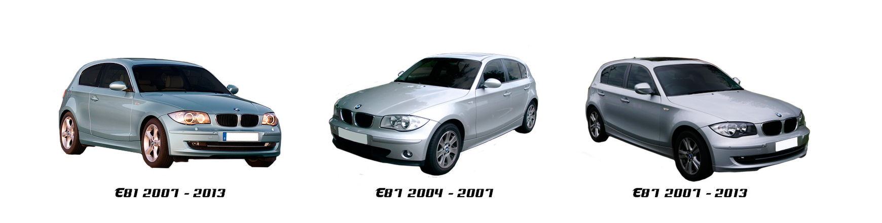 Recambios de coche para BMW Serie 1 E87 de 2007 a 2013 al mejor precio
