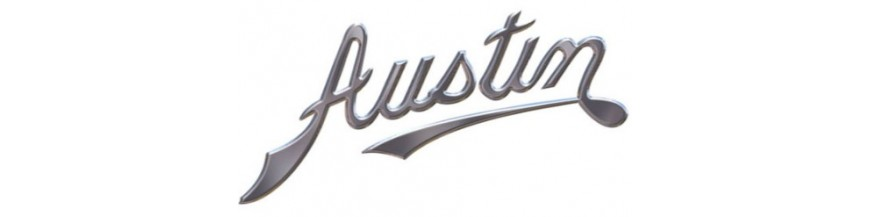 New parts and replacements for Austin, window operators, mirrors, lights,