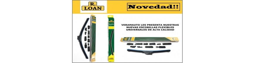 escobilla limpiaparabrisas universal flexible calidad máxima 10 adapta