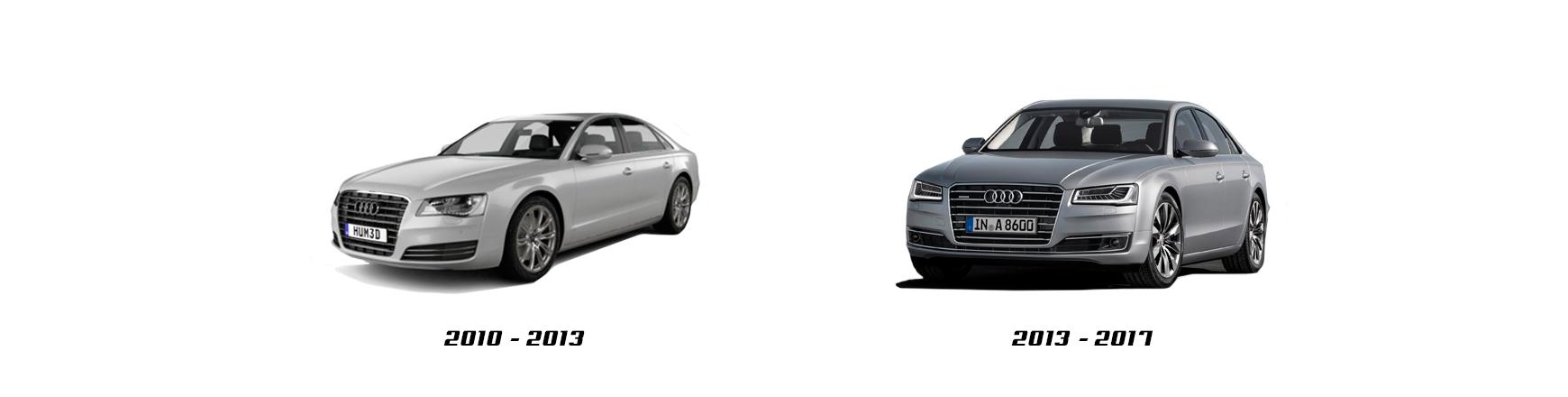 Audi A8 de 2010 a 2012 Repuestos de calidad al mejor precio.
