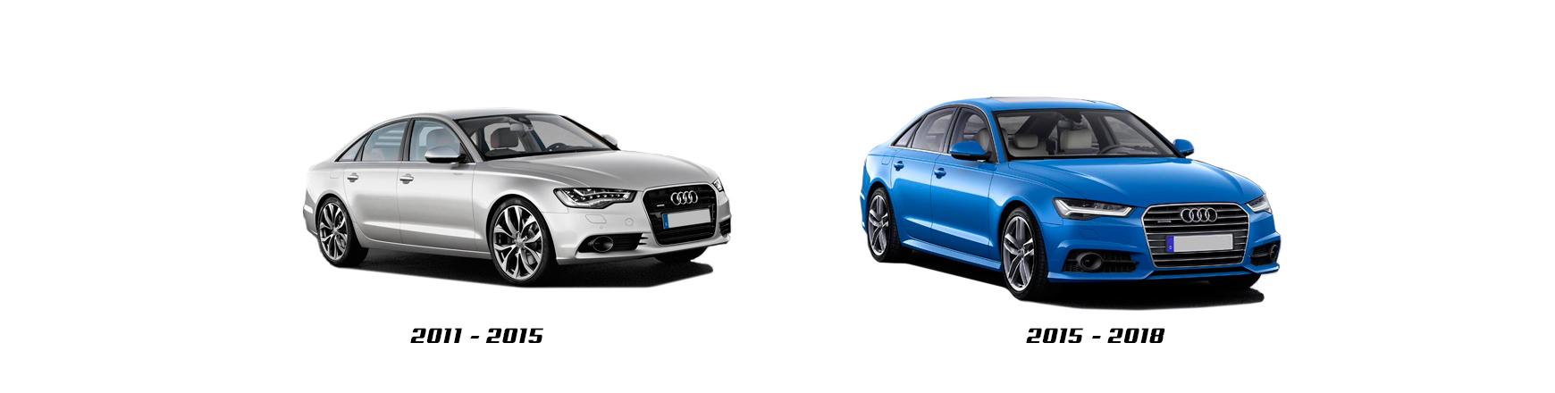Audi A6 4G años 2012 2013 2014 2015