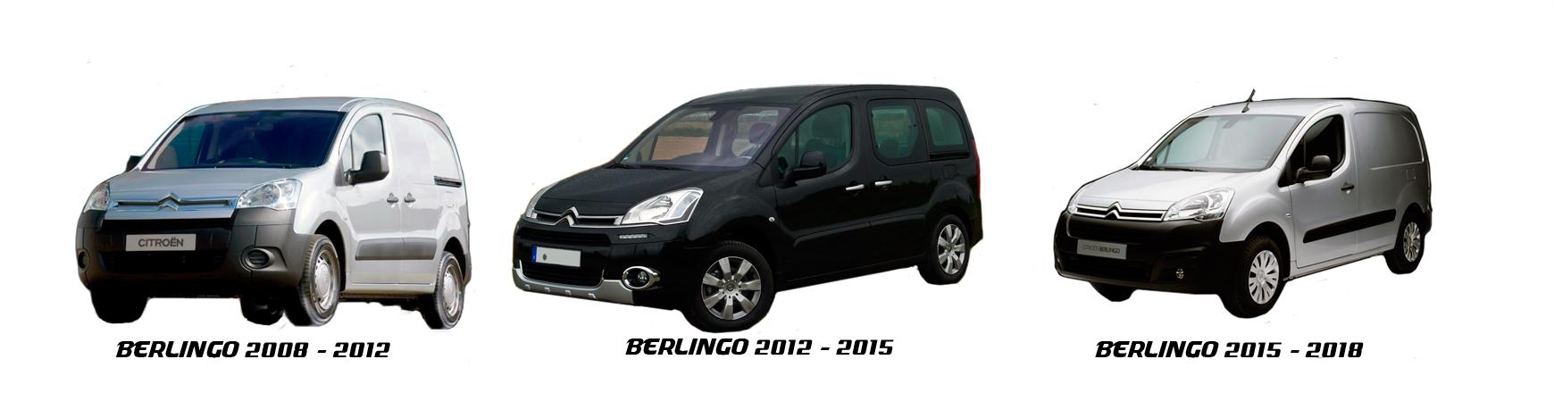 Recambios de Citroën Berlingo de 2008 a 2012. Envío urgente económico.