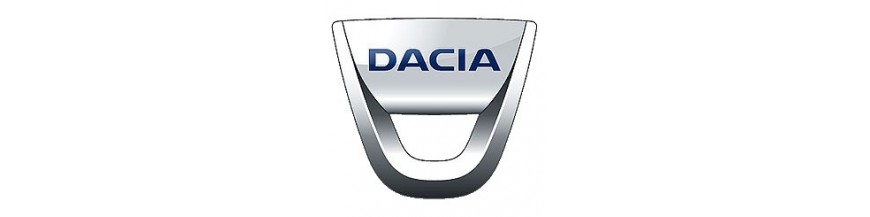 New parts and replacements for Dacia, window operators, mirrors, lights,