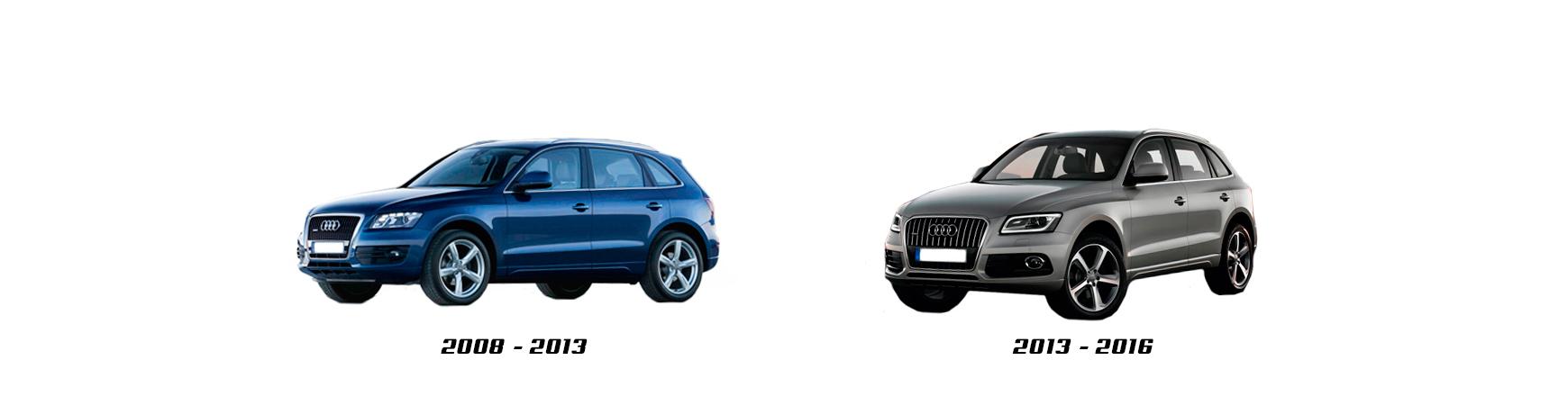 Audi Q5 de 2008 - 2012. Recambios de calidad al mejor precio.