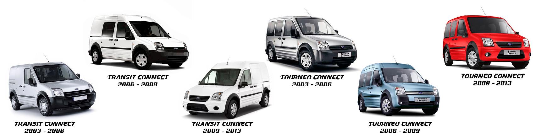 Recambios  y piezas de Ford Tourneo Connect de 2006, 2007, 2008 y 2009