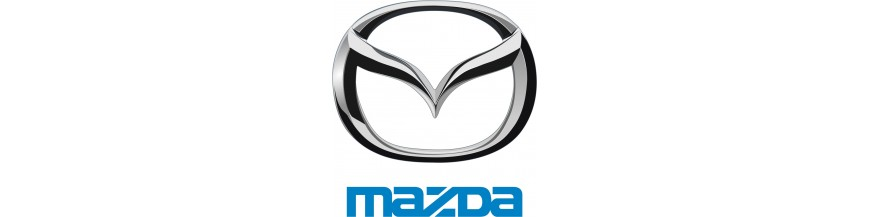 New parts and replacements for Mazda, window operators, mirrors, lights,