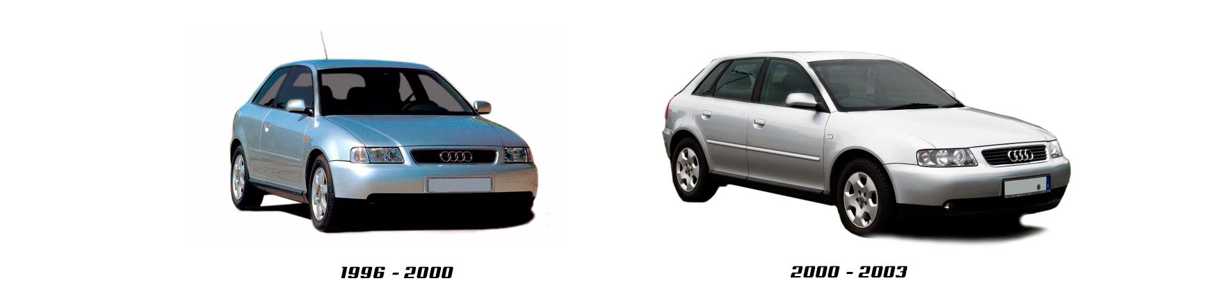 Audi A3 de 2000, 2001, 2002 y 2003. Recambios para coche. Envíos 24H.