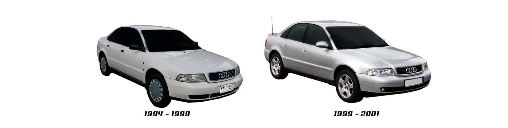 Audi A4 1994, 1995, 1996, 1997, 1998 y 1999.  Piezas para reparación.