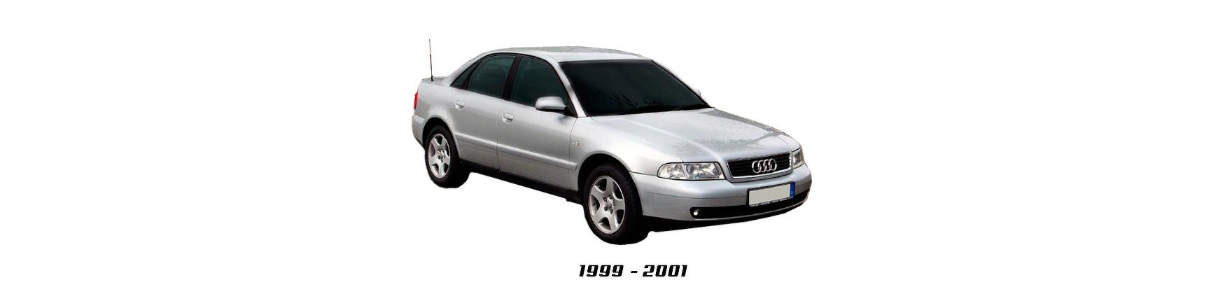 Audi A4 de 1999 y 2000.  Paragolpes, elevalunas, faros, pilotos,