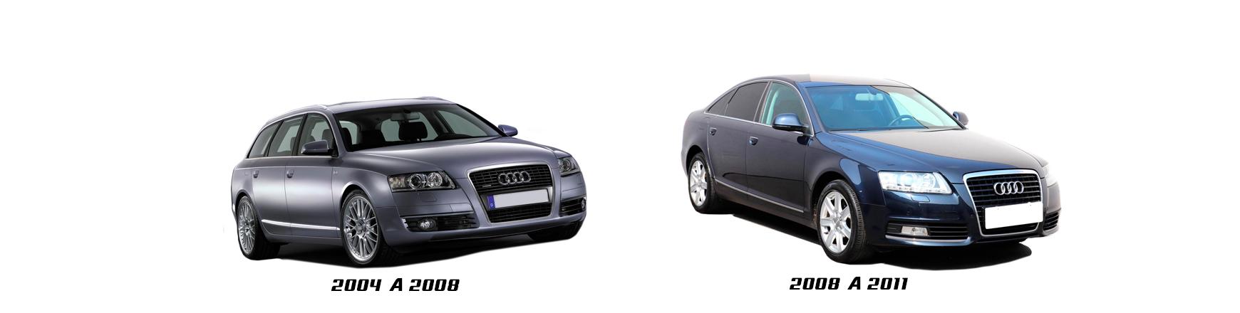 Audi A6 de 2004 a 2008. Recambios de coche económicos. Envío urgente.