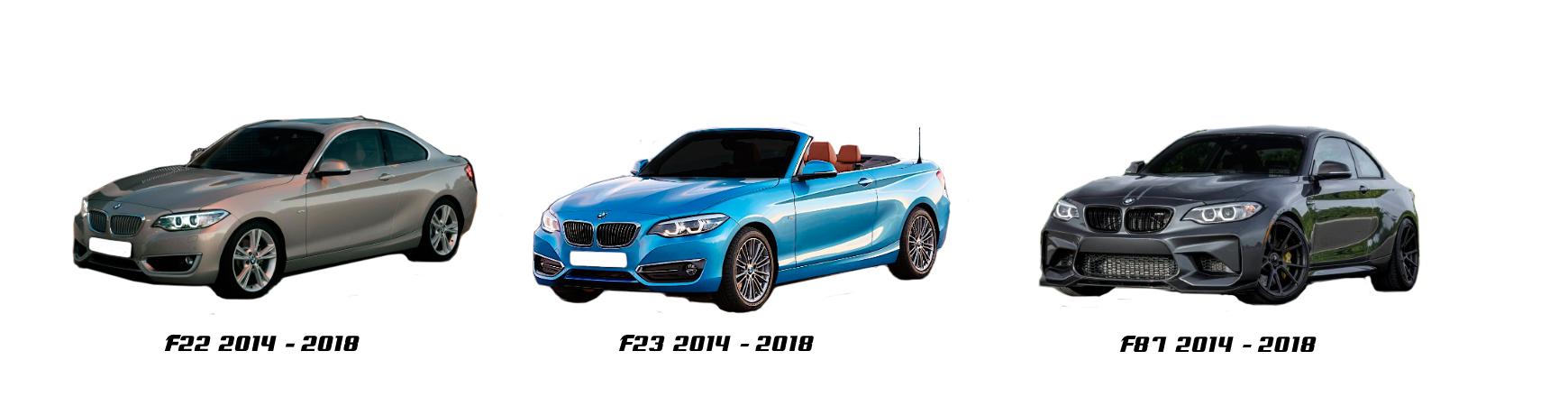 bmw serie 2 f22 f23 f87 de 2013 2014 2015 2016 2017