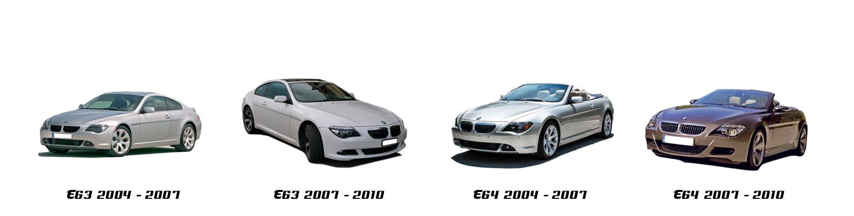 bmw serie 6 e63 e64 2004 2005 2006 2007 2008 2009 2010