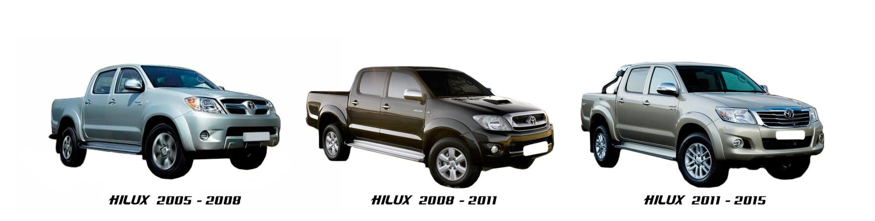 toyota hilux pick up 2004 2005 2006 2007 2008 2009 2010 2011